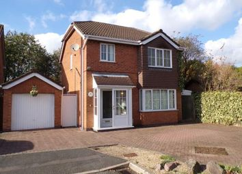 Thumbnail 3 bed detached house for sale in Marcus Close, Syston, Leicester, Leicestershire
