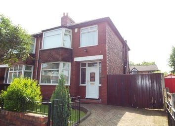 Thumbnail 3 bed semi-detached house for sale in Cedar Avenue, Whitefield, Manchester, Greater Manchester