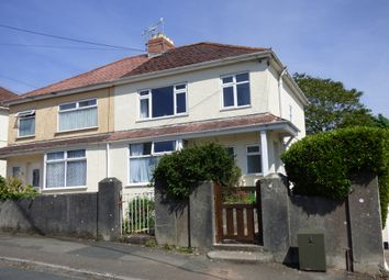 Thumbnail 2 bed flat for sale in Dean Park Road, Plymstock, Plymouth