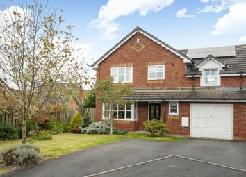 Thumbnail 4 bed semi-detached house for sale in Disserth View, Llandrindod Wells