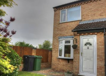 Thumbnail 2 bedroom end terrace house for sale in White Gates, Norwich