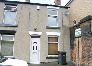 Thumbnail 2 bed end terrace house to rent in Marsden Street, Chesterfield, Derbyshire