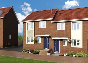 "Thumbnail 3 bedroom property for sale in ""The Cornflower At Meadow View, Shirebrook"" at Brook Park East Road, Shirebrook, Mansfield"