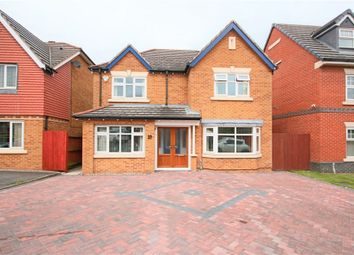 Thumbnail 4 bed detached house for sale in Priestfields, Leigh, Lancashire
