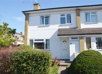 Thumbnail 3 bed end terrace house for sale in Meadow Way, Theale, Reading
