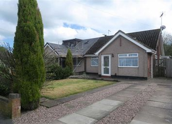 Thumbnail 2 bed semi-detached bungalow for sale in James Crescent, Werrington, Stoke-On-Trent