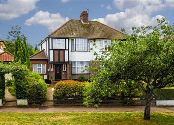 Thumbnail 3 bed semi-detached house for sale in Winkworth Road, Banstead, Surrey