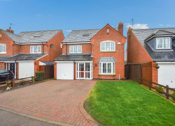 Thumbnail 6 bed detached house for sale in Cleveland Road, Wigston, Leicester