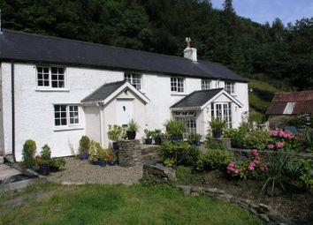 Thumbnail 4 bed farmhouse for sale in Cwmrheidol, Aberystwyth
