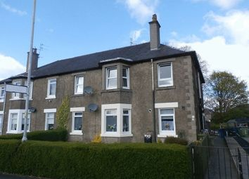 Thumbnail 2 bed flat for sale in Crosslet Road, Dumbarton