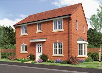 "Thumbnail 3 bed detached house for sale in ""Darwin"" at Rykneld Road, Littleover, Derby"