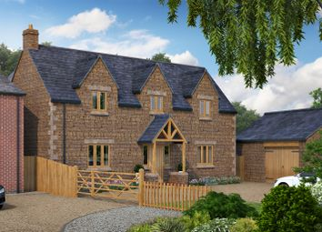 Thumbnail 5 bed detached house for sale in Deepdale, Great Easton, Market Harborough