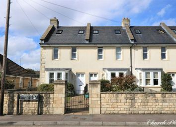 Thumbnail 3 bedroom end terrace house for sale in Church Road, Combe Down, Bath