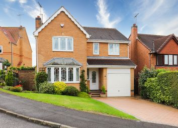 Thumbnail 4 bed detached house for sale in Fairburn Croft Crescent, Barlborough, Chesterfield