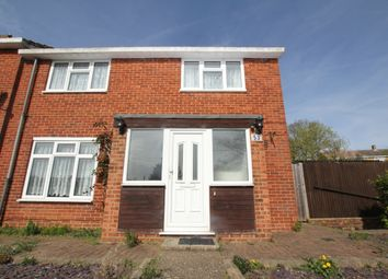 Thumbnail 4 bedroom end terrace house for sale in Spring Drive, Stevenage