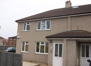 Thumbnail 2 bed flat to rent in Derham Road, Bishopsworth