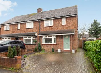 Thumbnail 3 bed semi-detached house for sale in Cowley Crescent, Hersham, Walton-On-Thames