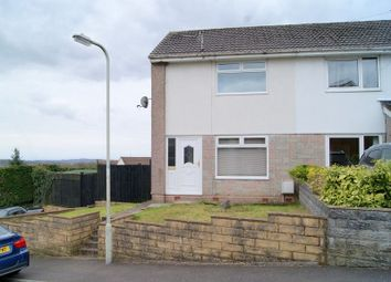 Thumbnail 2 bedroom semi-detached house for sale in St. Marks Close, Llanharan, Pontyclun, Rhondda, Cynon, Taff.