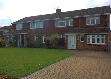 Thumbnail 4 bed semi-detached house for sale in Denman Drive, Ashford