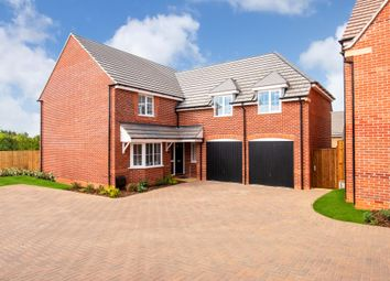 "Thumbnail 4 bedroom detached house for sale in ""Rothbury"" at Blackthorn Crescent, Brixworth, Northampton"