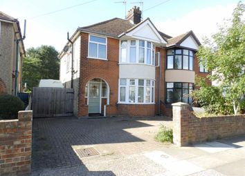 Thumbnail 3 bedroom semi-detached house for sale in Brunswick Road, Ipswich, Suffolk