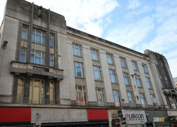 Thumbnail 4 bed flat for sale in Granby Street, Leicester