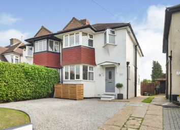 Leatherhead Road, Chessington KT9. 3 bed semi-detached house