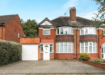 Thumbnail 3 bedroom semi-detached house for sale in Butler Road, Solihull, West Midlands, Birmingham