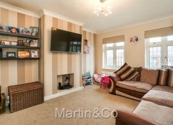 Thumbnail 3 bed flat for sale in Stonecot Hill, North Cheam, Sutton