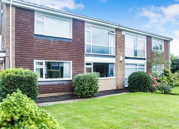 Thumbnail 2 bed flat for sale in Norham Close, Wideopen, Newcastle Upon Tyne
