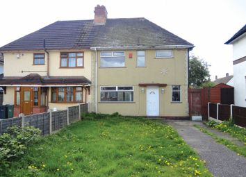 Thumbnail 3 bedroom semi-detached house for sale in Barlow Road, Wednesbury, West Midlands