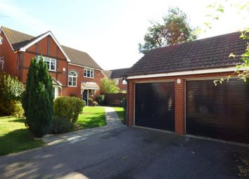 Thumbnail 4 bed detached house for sale in Royce Close, Yaxley, Peterborough