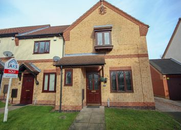 Thumbnail 3 bedroom end terrace house for sale in Stornoway Close, Sinfin, Derby