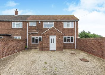 Thumbnail 4 bed end terrace house for sale in Station Road, Graizelound, Doncaster