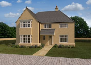 Thumbnail 4 bed detached house for sale in Alconbury Weald, Ermine Street, Alconbury, Huntingdon