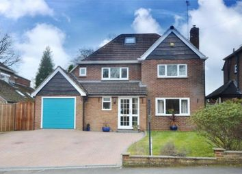 Thumbnail 4 bed detached house for sale in Warren Rise, Frimley, Camberley