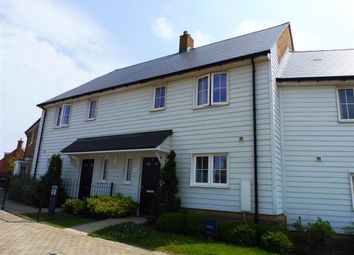 Thumbnail 3 bed terraced house to rent in Avocet Way, Finberry, Ashford
