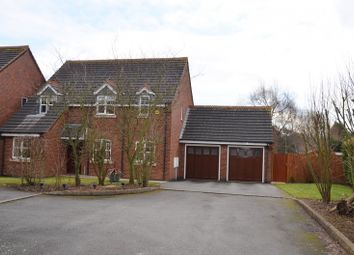 Thumbnail 4 bed detached house for sale in Dale Gardens, Measham, Swadlincote