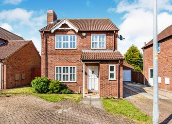 Thumbnail 3 bed detached house for sale in Stretton Close, Sturton By Stow, Lincoln