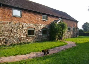 Thumbnail 4 bed barn conversion for sale in The Varchoel, Guilsfield, Welshpool