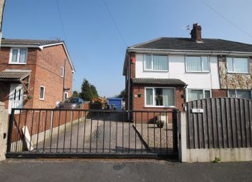 Thumbnail 3 bed semi-detached house for sale in Elizabeth Road, Partington, Manchester
