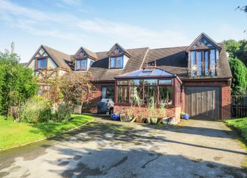 Thumbnail 4 bed detached house for sale in Hall Orchard, Cheadle, Stoke-On-Trent