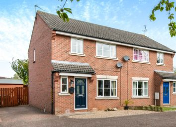 Thumbnail 3 bed semi-detached house for sale in Shuckford Close, Roydon, Diss