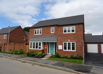Thumbnail 4 bed detached house for sale in Coronet Drive, Ibstock, Leicestershire
