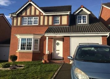 Thumbnail 4 bed detached house to rent in Wrenbury Drive, Bilston