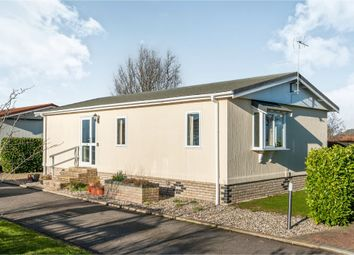 Thumbnail 2 bed mobile/park home for sale in Debenham Corner, Wetheringsett, Stowmarket