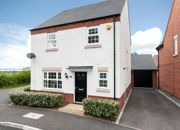 Thumbnail 4 bed detached house for sale in Vulcan Way, Castle Donington, Derby
