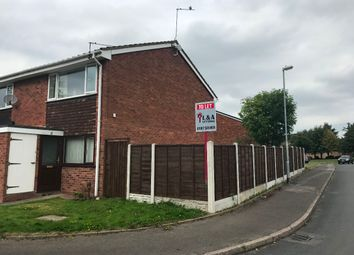 Thumbnail 1 bed flat to rent in Grenville Close, Walsall