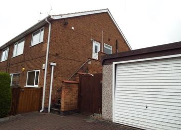 Thumbnail 2 bed flat for sale in Smithy Crescent, Arnold, Nottingham