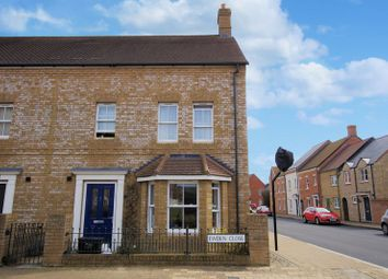 Thumbnail 3 bed end terrace house for sale in Ewden Close, Swindon